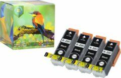 Ink Hero - 4 Zwarten - Inktcartridge / Alternatief voor de Epson T3351 T3361 T3362 T3363 T3364 Expression Home XP-530 XP-630 XP-635 XP-830 Expression Premium XP-530 XP-540 XP-630 XP-635 XP-640 XP-645 XP-830 XP-900 33