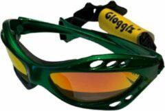 Glogglz Zwembril Rayz Polycarbonaat Groen/oranje One-size
