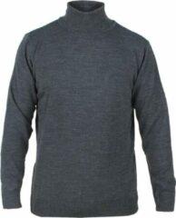 New Republic Enrico Polo - Heren pullover met colkraag - Donker Grijs