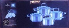 Zilveren Merkloos / Sans marque Le Chef - 4-delige Kookset Vienna