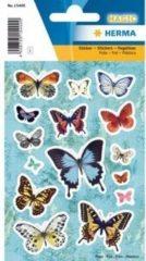 HERMA 15400 Stickers vlucht van de vlinders, foil