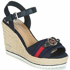 Marineblauwe Tom Tailor sandalen met riem Navy-42