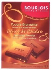 Bruine Bourjois Delice De Poudre Bronzer - 51 Peaux Claires/Médianes