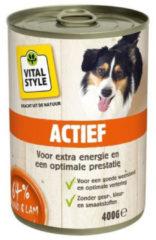 VITALstyle Hondenvoer Blik Actief 400 gr