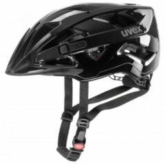 Zwarte UVEXL Fietshelm Active 2019 fietshelm, Unisex (dames / heren), Maat M,