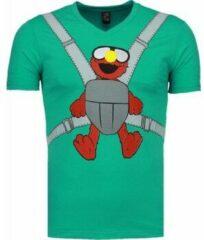 Groene T-shirt Korte Mouw Mascherano Baby Bear - T-shirt