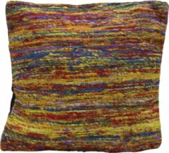 Myroundie - sierkussen - kussen - 45x45 cm - wild stripe - multi kleur