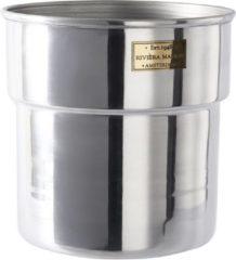 Riviera Maison Rivièra Maison City Loft Flower Pot - S - Bloempot - Aluminium - Zilver