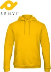 Fruit of the Loom Senvi Authentic Hoodie Kleur Geel - Maat XS
