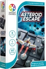 SmartGames Asteroid Escape, schuifpuzzel Smart Games (60 opdrachten)