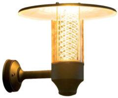 Konstsmide Nova 406-750 Buitenlamp (wand) Energielabel: D (A++ - E) Halogeen GU10 50 W Zwart