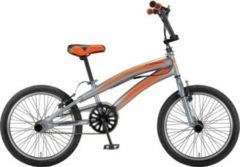 20 Zoll Jungen BMX Fahrrad Hoopfietsen... grau-orange