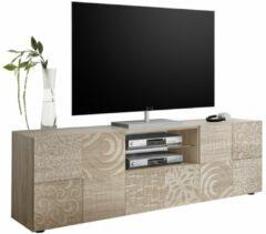 Pesaro Mobilia Tv-meubel Miro 181 cm breed in sonoma eiken
