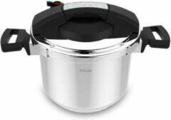 Roestvrijstalen Hisar Snelkookpan - Pressure Cooker - Inductie - Ø22 cm - 6 liter