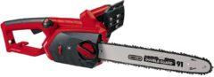 Rode Einhell GE-EC 2240 Elektrische Kettingzaag - 2200 W - Zwaardlengte: 40.6 cm - OREGON zwaard & ketting