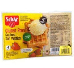 DR.SCHAR Schar Gaufres Soft Waffles cialde soffici senza glutine 4 pezzi