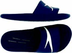 Marineblauwe Speedo Junior Speedo Slide Slippers Unisex - Navy - Maat 32