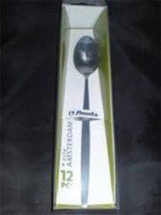 Zilveren Sorbetlepel Amefa 2374 Amsterdam 18,7 cm 18/0 12 stuks