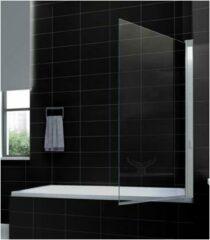 Douche Concurrent Badwand Eco 80x150cm Antikalk Helder Glas Chroom Profiel 6mm Veiligheidsglas Easy Clean