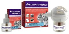 Feliway Friends feromoon verdamper navulling 48 ml kat 066810