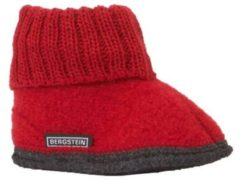 Rode Bergstein cozy pantoffels rood