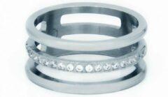 La Label Jewelry Ring triple cubic zirconia