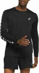 Asics - Katakana L/S Top - Sportshirt maat S, purper/zwart/rood/blauw/blauw/blauw/olijfgroen/zwart/zwart/grijs