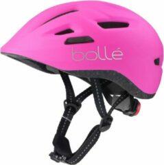 Bollé Fietshelm Stance Meisjes 47-51 Cm Roze/zwart Mt Xs