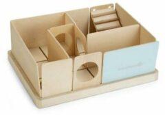 Beeztees Labyrint Findex - Knaagdier - Hout - Mint - 23x17x10cm
