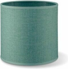 Home sweet home lampenkap Canvas 16 - turquoise