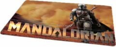 Zwarte Kimano Gaming muismat The Mandalorian - 27x36 cm - Star Wars