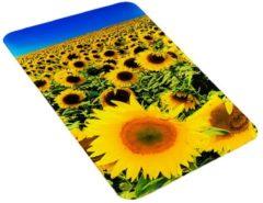 2er-Set Herdabdeckplatten 'Sonnenblumenfeld' Wenko Sonnenblumenfeld