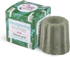 Lamazuna shampoo blok voor vet haar - wild gras