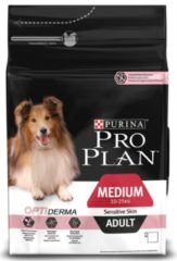 Pro Plan Dog Adult Medium Breed Sensitive Zalm - Hondenvoer - 3 kg - Hondenvoer