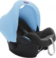 Blauwe Dooky Hoody autostoel groep 0+ zonnekap