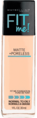 Maybelline Fit Me! Matte and Poreless Foundation 30ml (Various Shades) - 120 Classic Ivory