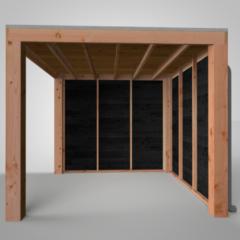 CarpGarant | Douglas overkapping Excellent | 300 x 300 cm | C1