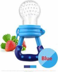 Elemental GOods 2 Stuks Baby Fruitspeen Siliconen - Speen - Kinderen - Blauw