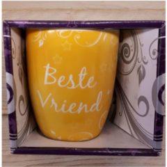 Miko Mok beste vriend geel in nette geschenkverpakking
