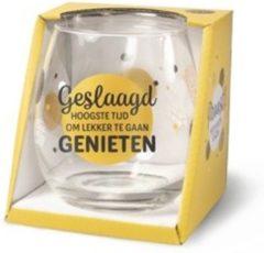 Gouden Miko - Waterglas - Wijnglas - Geslaagd