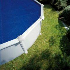 Blauwe Gre zwembad afdekzeil zomer rond 3.5 m