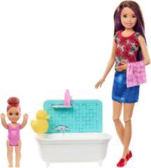 Overige merken Barbie Family Babysitter Skipper Badtijd - Barbiepop