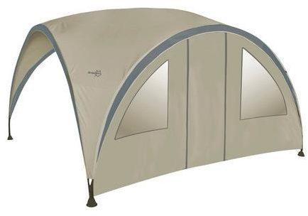 Afbeelding van Beige Bo-Camp Bo-Garden Zijwand Voor Party Shelter Small - Met Deur