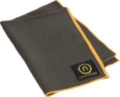 Natural fitness Yoga mat handdoek grijs/geel