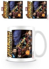 Hole in the Wall Avengers Infinity war Space Montage - Mug