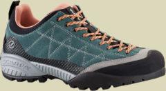 Scarpa Schuhe Zen Pro Women Zustiegsschuh Damen Größe 42 nile blue/salmon