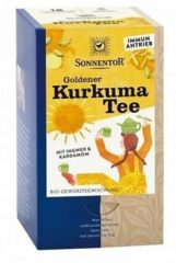 Sonnentor Gouden kurkuma thee bio 18 Stuks