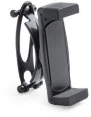 Merkloos / Sans marque Smartphone houder / telefoonhouder universeel voor fiets / kinderwagen / hometrainer - Zwart