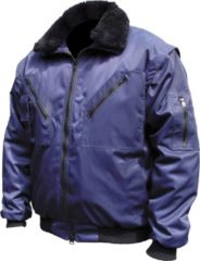 Marineblauwe M-Wear Sow Pilotjack - 8380 Marinebl Xl