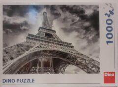 Grijze Dino puzzel Wolken boven Eiffeltoren 1000 stukjes